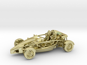 Ariel Atom 1/43 scale LHD no wings in 18K Gold Plated