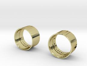 10x8 Medium Offset Modular Rim in 18K Gold Plated