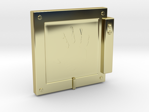 "Handscanner for 4"" figures (3 3/4"" or 1:18 scale) in 18K Gold Plated"