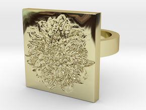 Dahlia Ring in 18K Gold Plated