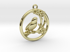 Lorraine Pendant in 18K Gold Plated