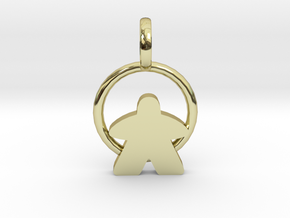 Ginger Bread Pedant in 18K Gold Plated