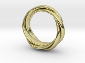 TORUSRING II  (18,5 mm)  in 18K Gold Plated