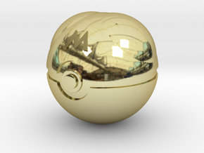 Master Ball Original Size (8cm in diameter) in 18K Gold Plated