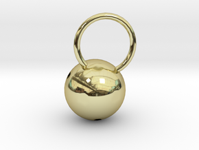 Luna Pendant in 18K Gold Plated