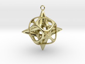 Christmas Star No.2 in 18K Gold Plated