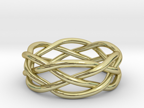 Dreamweaver Ring (Size 11) in 18K Gold Plated
