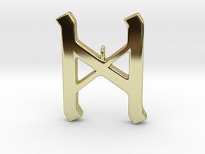 Rune Pendant - Dæg in 18K Gold Plated
