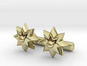 FLOWER CUFFS in 18K Gold Plated