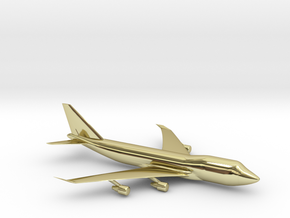 B747 in 18K Gold Plated