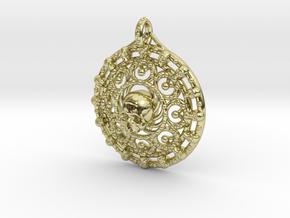 Skull Mandala in 18K Gold Plated