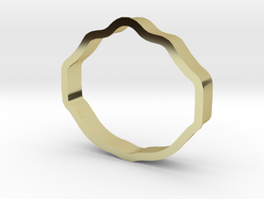 world heavyweight cookie cutter in 18K Gold Plated