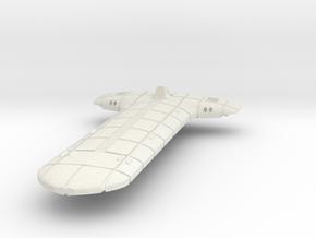 Terran (TFN) Light Cruiser in White Natural Versatile Plastic