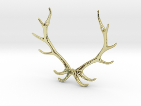 Reindear Pendant in 18K Gold Plated