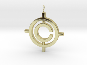 The Conspiracy Pendant in 18K Gold Plated