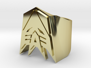 [Transformer] Decepticon Ring size #9 in 18K Gold Plated