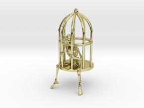 Gibbet Pendant/Earring in 18K Gold Plated