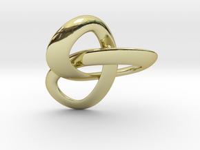 Trioloop pendant in 18K Gold Plated
