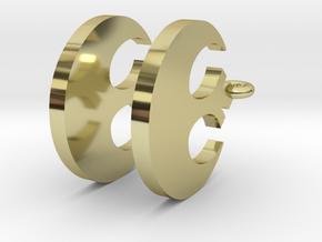 Rebel-Alliance Earring in 18K Gold Plated