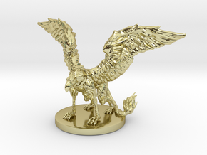 Griffon Miniature in 18K Gold Plated