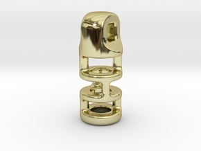 Tritium Lantern 3B (2.5x10mm Vial) in 18K Gold Plated