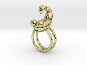 boOpGame Shop - The Scorpio Ring in 18K Gold Plated