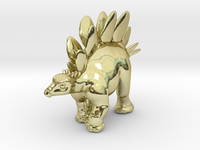 Stegosaurus Chubbie Krentz in 18K Gold Plated