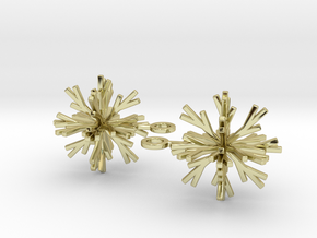 Snowflake Earring Iva in 18K Gold Plated