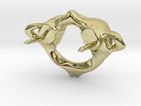 C1 Atlas Biker Pin in 18K Gold Plated