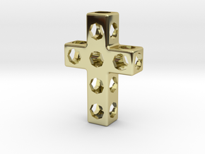 CrossOct-mm in 18K Gold Plated
