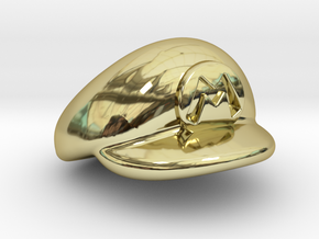 M-Plumber Cap in 18K Gold Plated
