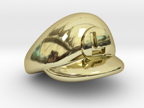 L-Plumber Cap in 18K Gold Plated