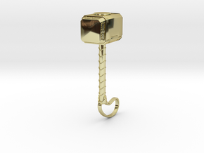 ACC-12-Hammer  6-7inch in 18K Gold Plated