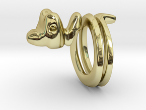 Snakering in 18K Gold Plated