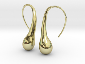 Bubble earring in 18K Gold Plated