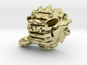 Valentines Monster (and SD&Pen holder) in 18K Gold Plated