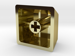 Look of Disapproval Keycap (R4, 1x1) in 18K Gold Plated