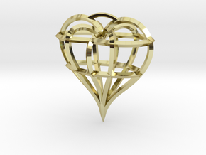 Heart of love in 18K Gold Plated