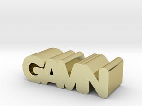 Gavin in 18K Gold Plated