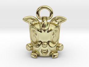 Lucky Rodent 003 in 18K Gold Plated
