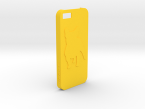 Iphone 5/5s Case Bully in Yellow Processed Versatile Plastic