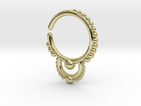 Ear/Nose Hoop in 18K Gold Plated