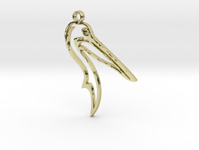 Pelican pendant in 18K Gold Plated