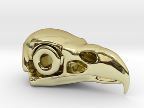 Eagle Skull in 18K Gold Plated