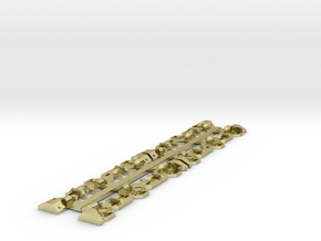 NZ120 DQ/QR SIDEFRAMES in 18K Gold Plated
