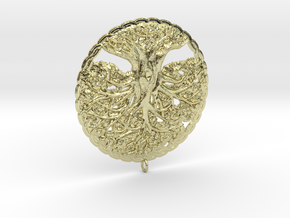 Tree of Life Pendant in 18K Gold Plated