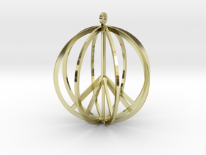 Global Peace in 18K Gold Plated