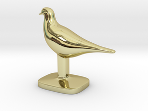 Pigeon Bird in 18K Gold Plated