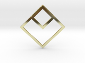 Projection in 18K Gold Plated