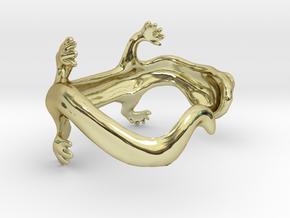 lizard bracelet in 18K Gold Plated